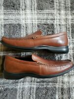 COLE HAAN C08204 Mens Brown Leather Slip On Loafers Shoe Size US 7.5 M