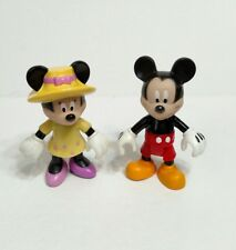 Mega Bloks Disney Mickey Mouse & Mini Mouse Clubhouse Figures
