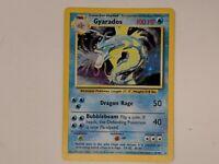 Gyarados Base Holo Rare Card #6/102 Pokemon Card 1999