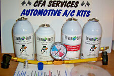 R12 COMPATIBLE REFRIGERANT + OIL+STOP LEAK / 1995-OLDER CARS RECHARGE A/C KIT
