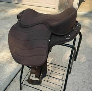 Cashel Soft Saddle G2 Brown Treeless, Excellent