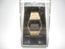 Mens Tranel Solid State Quartz Watch With Original Box Digital Vintage Untested
