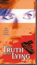 THE TRUTH ABOUT LYING John Ritter VHS Daphne Zuniga RARE