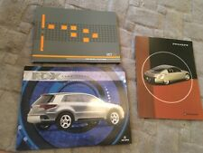 GENERAL MOTORS, ACURA, CONCEPT CARS  BROCHURES x 3    USA MARKET