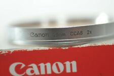 Canon 58mm CCA8 2X color correction Chrome filter from 70's FL FD RF EF lens
