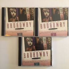 The Music of Broadway-London Pops Orchestra-Volume 1, 2 and 3 (3 CD's)