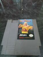 Nintendo Video Game WWF Wrestlemania NES Cartridge Akklaim Hulk Hogan