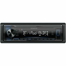 NEW Single-DIN In-Dash Digital Media Receiver with Bluetooth & SiriusXm Ready