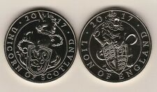 More details for 2017 unicorn of scotland & lion of england £5 crowns with capsules.