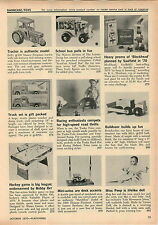 1970 ADVERT Ertl Massey Ferguson Tractor Bobby Orr Hockey Game Toy Play
