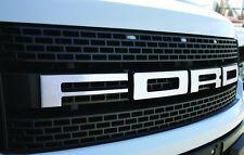 Ford Raptor Billet Grille Letters FORD