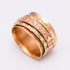 Solid Copper Brass Spinner Ring Jewelry Meditation ring statement All Size LA-21