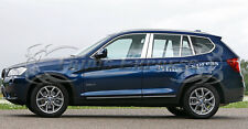 2014-2017 BMW X-5 X5 8Pc Chrome Pillar Post Stainless Steel