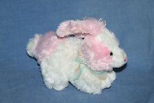 "Ty Beanie Babies Sorbet EASTER BUNNY RABBIT 7"" Plush Stuffed Animal Pink White"