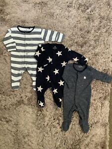 NEXT BABY BOYS ELEPHANT STARS BABYGROWS SLEEPSUITS NEWBORN BUNDLE COMBINE POST
