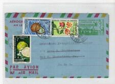 CAMEROUN: 1971 Uprated Aerogramme to USA (C56480)