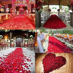 Wedding Decorations 100pcs Multi Colors Silk Flower Rose Petal Artificial NewHot