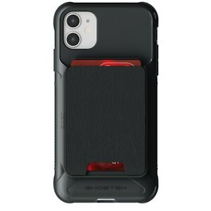 Wallet iPhone 11, 11 Pro, 11 Pro Max Case with Card Holder Magnetic Ghostek Exec