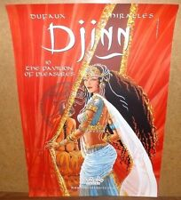 "Djinn The Pavillion Of Pleasures NYCC Exclusice Poster 16.5"" x 11.75"" Dufaux"