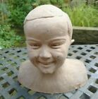 Original 1927 Bust Of A Young Boy By R Gelis FRENCH