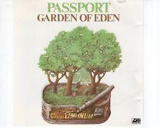 CD PASSPORTgarden of edenGERMAN 1988 EX (A1700)