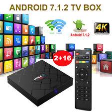 M96X-II Android 7.1 Nougat 2+16G Smart TV BOX 4K Media Player Quad Core MINI PC