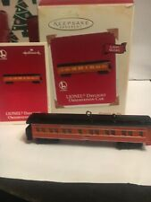 Lionel Daylight Observation Car Train Christmas Hallmark Keepsake Ornament NIB