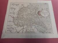100% ORIGINAL EAST YORKSHIRE  MAP BY SAXTON/KIP/HOLE C1610 VGC CAMDEN BRITANNIA