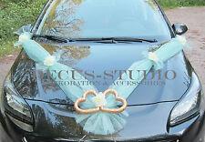 Girlande für Dekoration von Brautauto Hochzeit Autodeko Autoschmuck, AM001-016