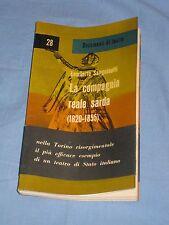 LA COMPAGNIA REALE SARDA - Lamberto Sanguinetti - Cappelli Editore (H1)