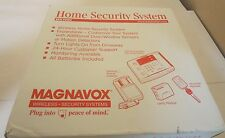 Magnavox MX1000 Home Security System Wireless Expandable