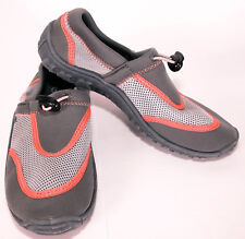 Northside Womens Water Shoes size 7 Slip-On River Pool Beach Mesh Gray Pink Euc