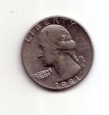Stati Uniti   USA   Quarter Dollar  1/4 $    1981     BB    (m429)