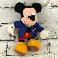 Disney Mickey Mouse Plush Doll 30th Anniversary Of Walt Disney World Stuffed Toy