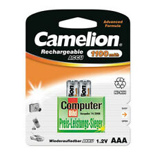 2 x Camelion AAA, Micro AKKU NiMH f Siemens Gigaset A420A, AS185, AS300A Telefon