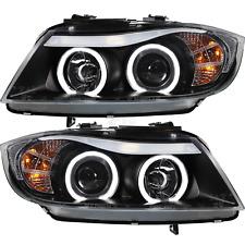 Scheinwerfer Set für BMW 3er E90 E91 CCFL Angel Eyes Limousine Touring Bj. 05-08