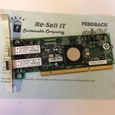 Emulex P-Series Dual Port FC Fibre Channel 5759 LP11002 4Gbps PCI-X 10N8620