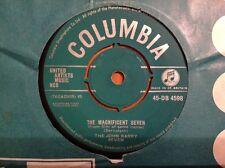 THE MAGNIFICENT SEVEN 1961 Vinyl 45rpm FILM SOUNDTRACK Single