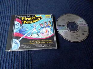 CD Gilbert & Sullivan - The Pirates of Penzance OPERA Charles Mackerras TELARC