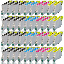 40x Tinte Drucker Patrone für EPSON Stylus SX205 SX210 SX215 SX218 SX417 SX610FW