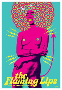 Scrojo The Flaming Lips 2018 Poster Belly Up Aspen Colorado FlamingLips_1806