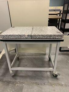 "Scienceware Bel-Art - (2) Vibration Damping Platforms (22"" x 18"" x 3"") w/ Table"
