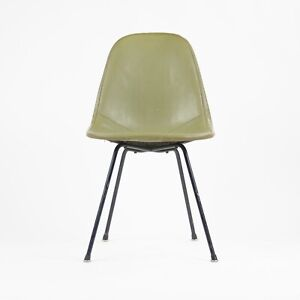1954 Herman Miller Eames Wire Shell Chair Green X Base DKX-1 All Original Venice