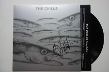 THE CHILLS - SILVER BULLETS HAND SIGNED RARE LP RECORD AUTOGRAPHED