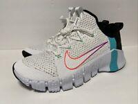 🔥Nike Free Metcon 3 Men's White Violet Size 10 Cross Training Shoes CJ0861 120