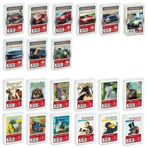 Quartett Kartenspiel von ASS / NSV - Kartenset, Tiere, Oldtimer, Fahrzeuge uvm