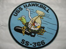 .US NAVY Patch Submarine USS HAWKBILL SS-366