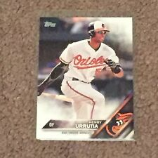 2016 Topps #158 Henry Urrutia Baltimore Orioles Series One Baseball Card NM/Mint