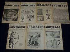 1975-1977 ONTARIO SHOWCASE MAGAZINE FOR ANTIQUE COLLECTORS LOT OF 7 - II 6153