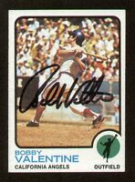 Bobby Valentine #502 signed autograph auto 1973 Topps Baseball Trading Card